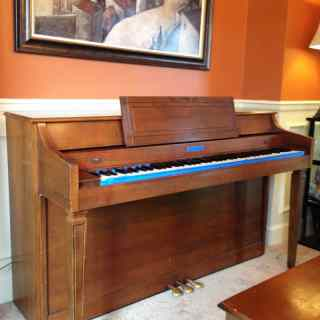 Piano Makeover with Chalk Paint