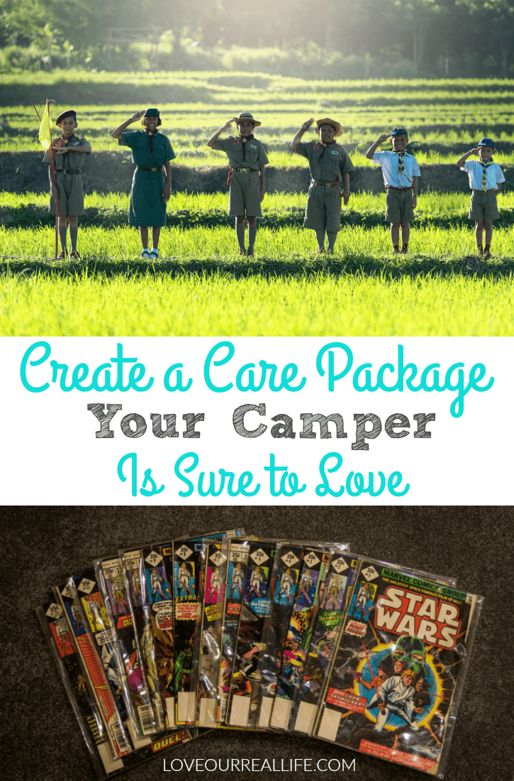 Camp care package, summer camp care package, care package for kids