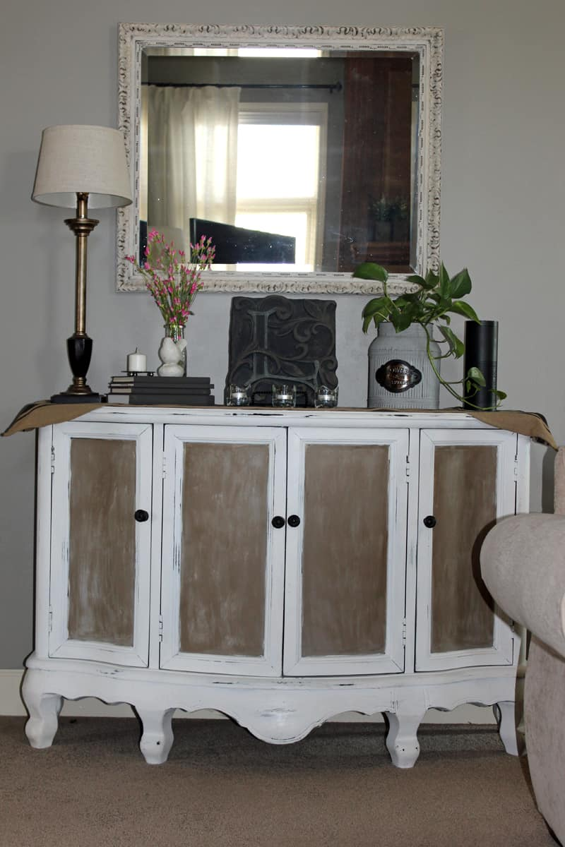 Storing electronics, furniture makeover, before and after furniture projects