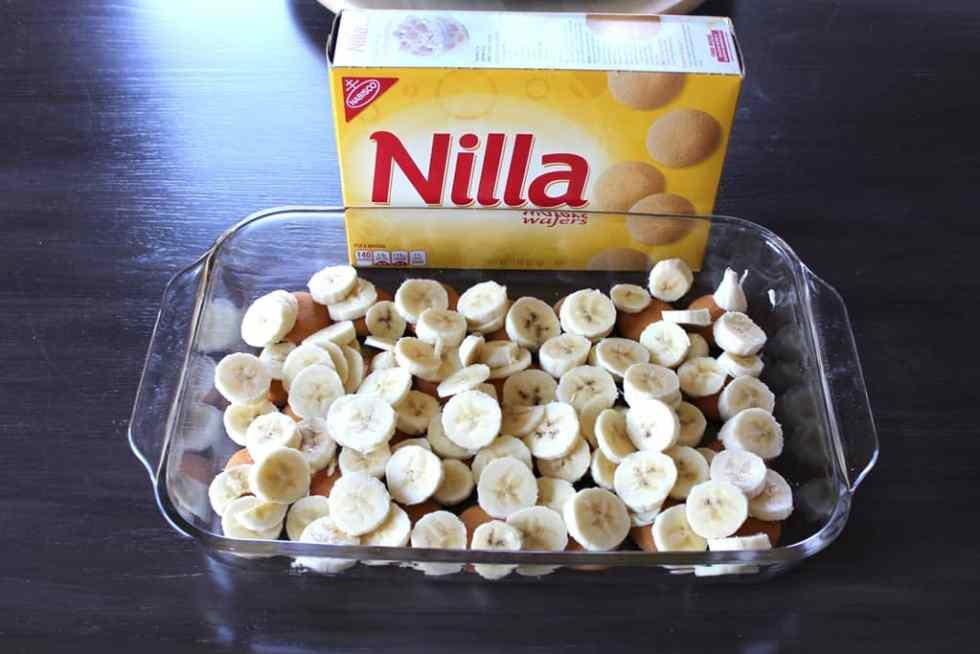 Banana pudding, Easy dessert, bananas, Nilla wafers