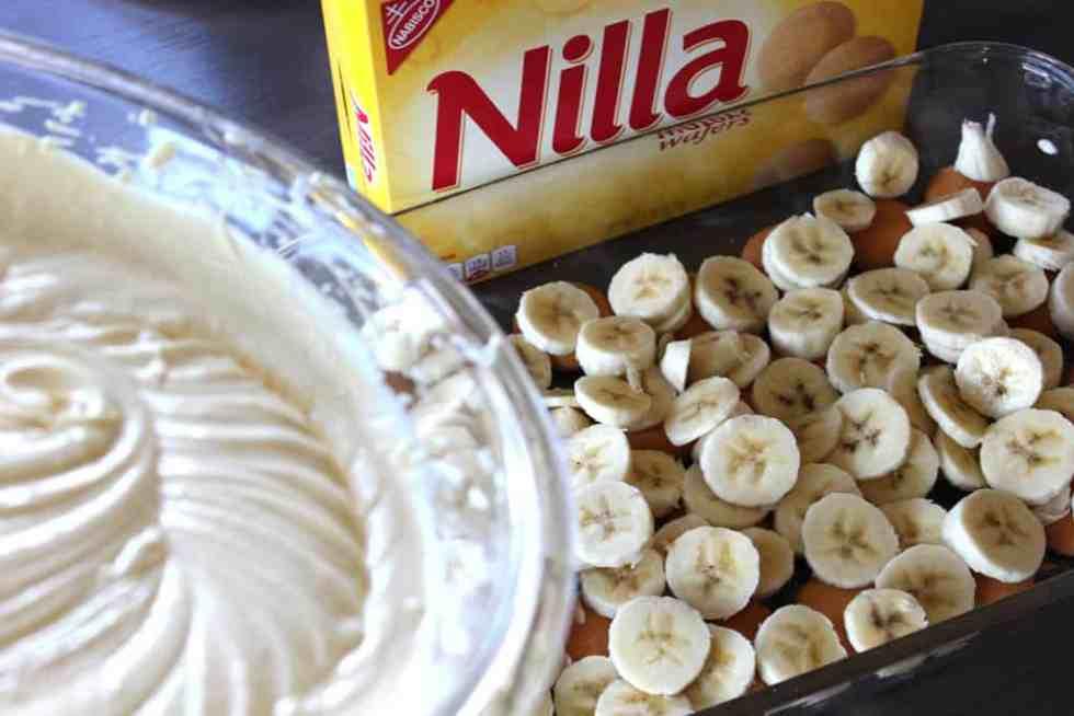 Banana pudding, easy dessert, easy banana pudding recipe, Paula Deen