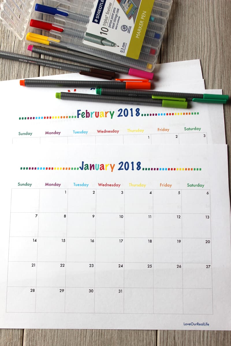 monthly calendars 2018, free printable calendars for 2018, calendars for 2018, calendars to print