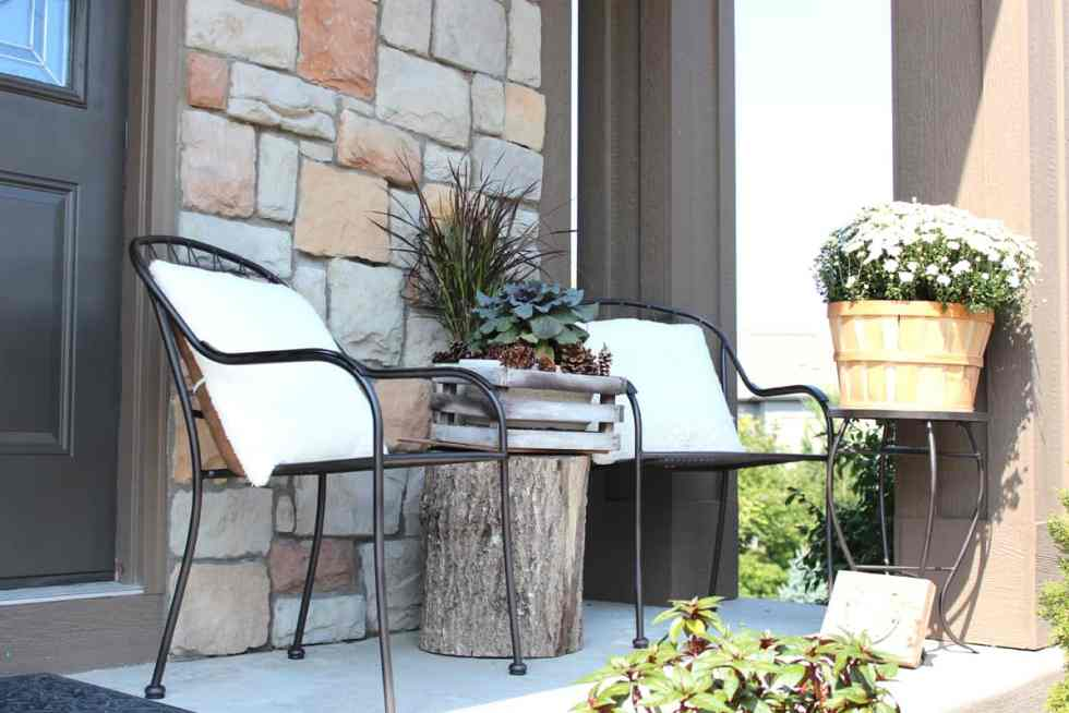 fall porch, decorating for fall, fall porch decorating tips