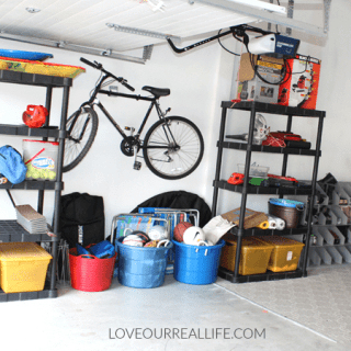 Garage Organization Project || Ideas for Your Garage!