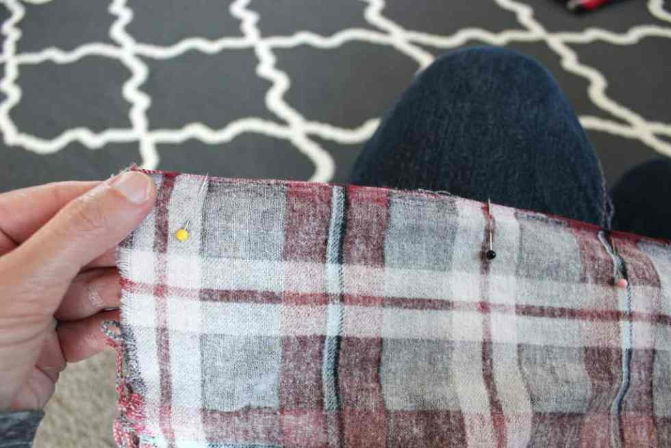 Infinity scarf directions, Tutorial for infinity scarf, simple steps for infinity scarf