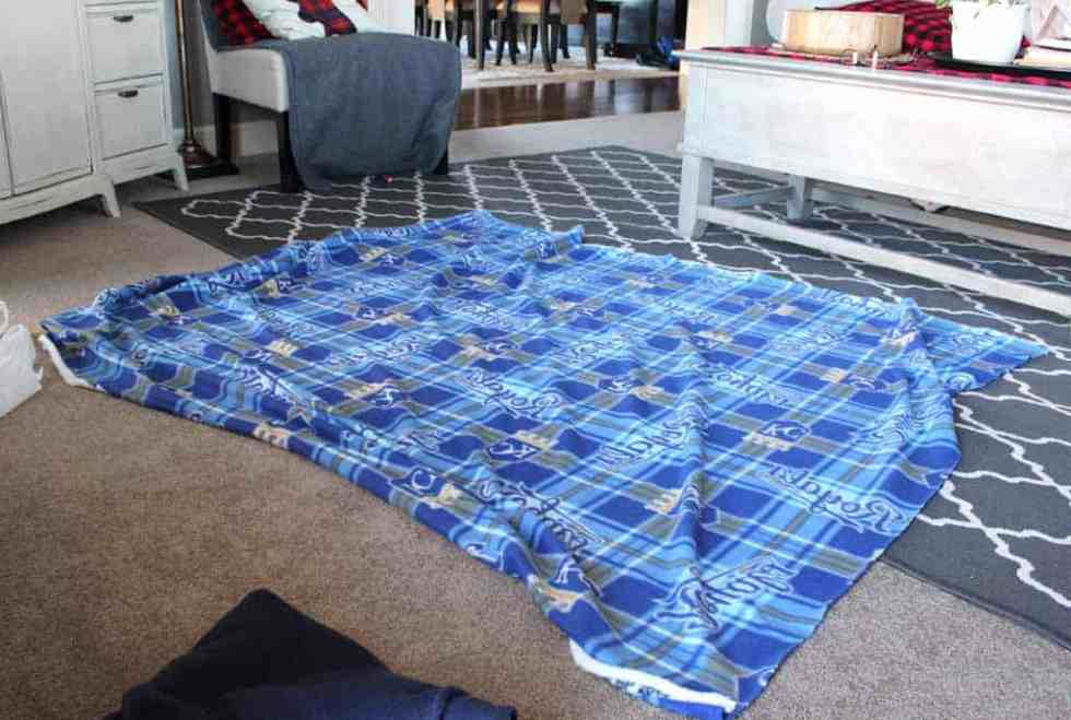 Pick a great fleece and let's get started with your no sew fleece blanket tutorial