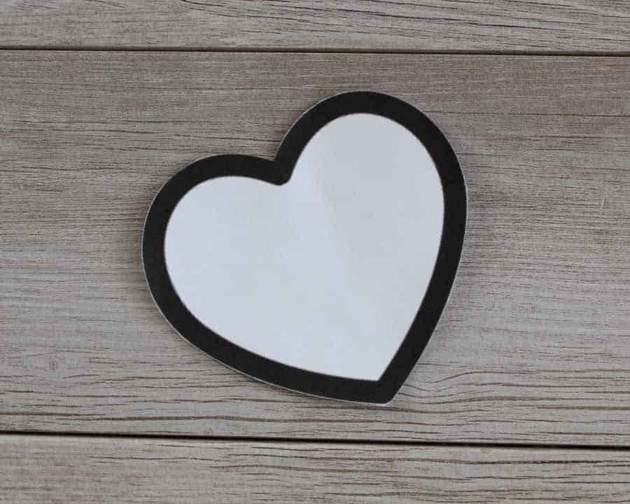 Heart clip art for Valentine's string heart banner
