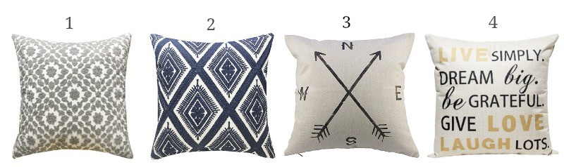 Pillows covers to update your spring decor