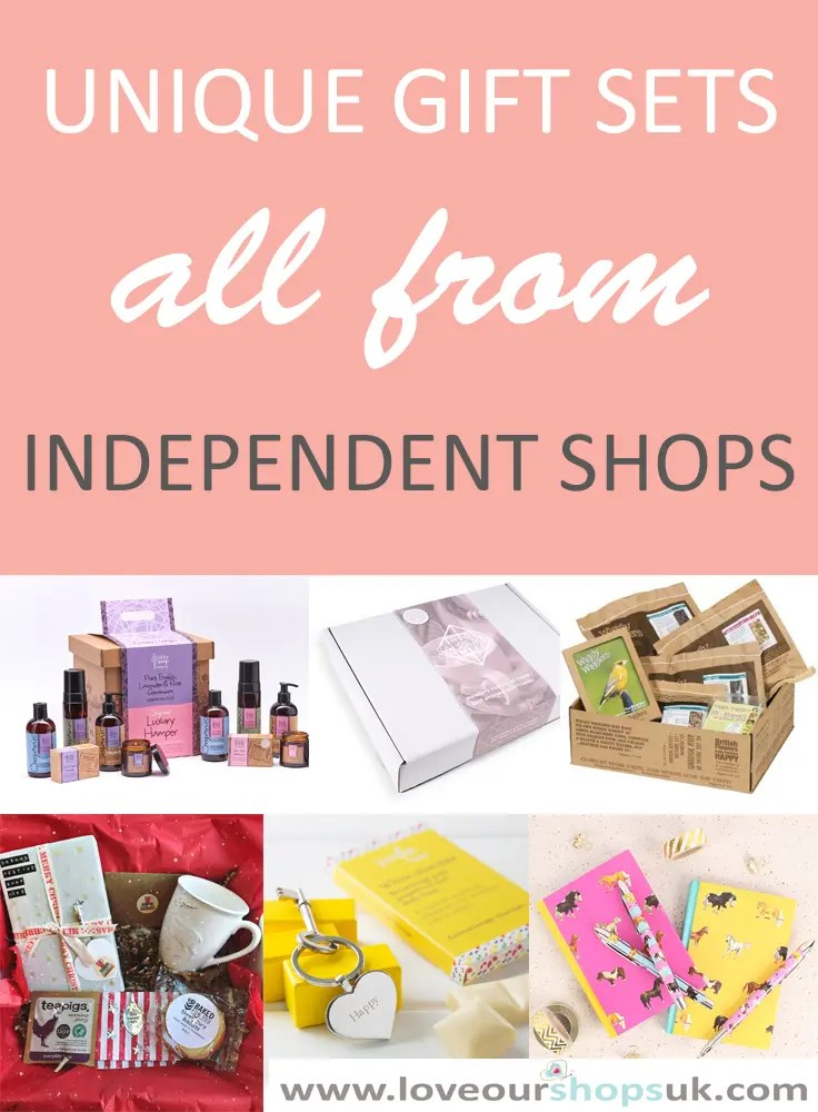 Unique Gift Sets | Independent Shops | Love Our Shops UK