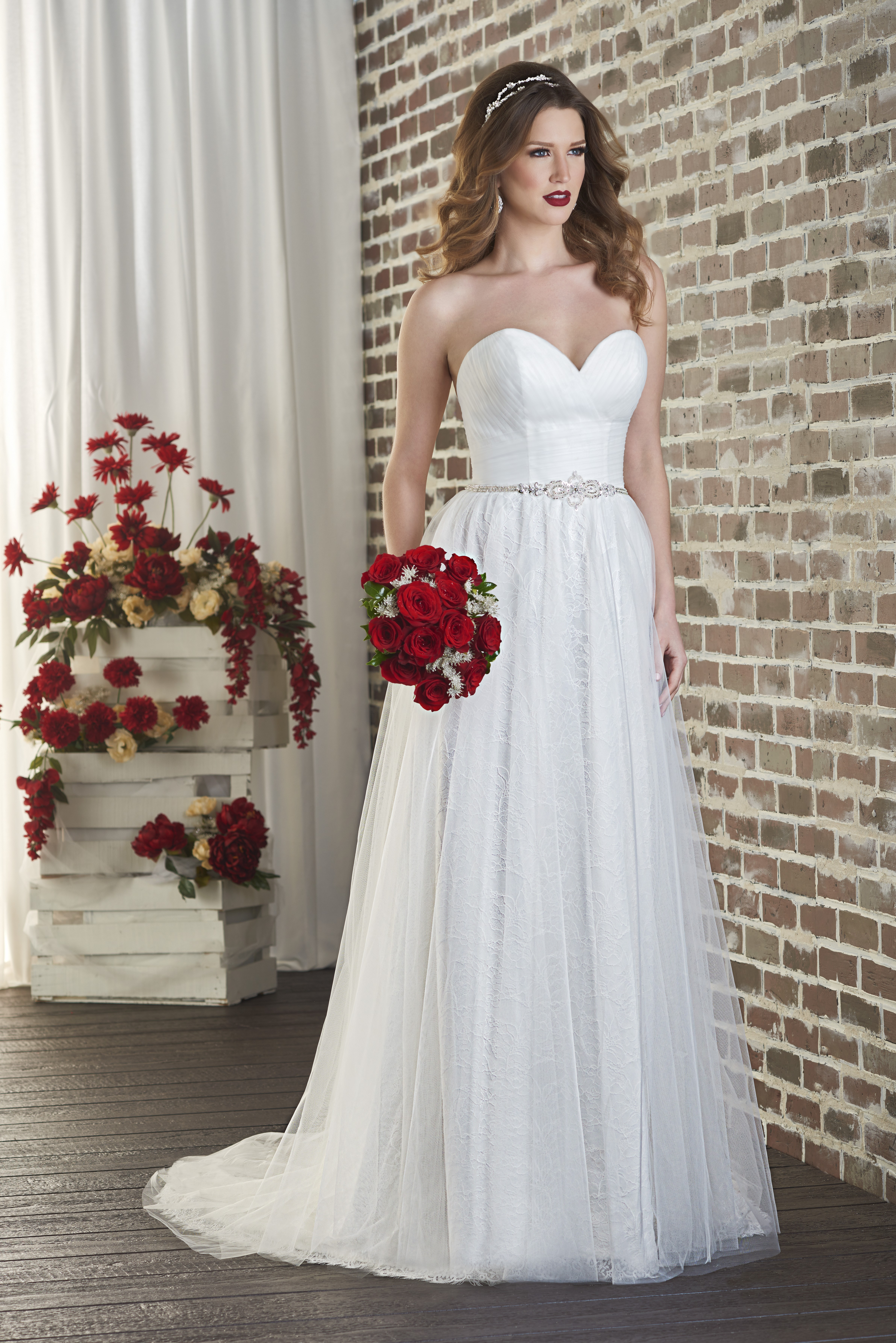 Destination wedding dresses from the Love collection by Bonny Bridal  Love Our Wedding