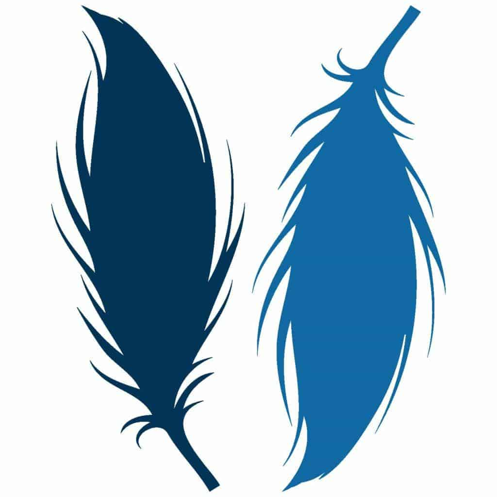 Download Free Feather SVG - Love Paper Crafts