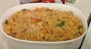 West African Recipe - Jollof Rice