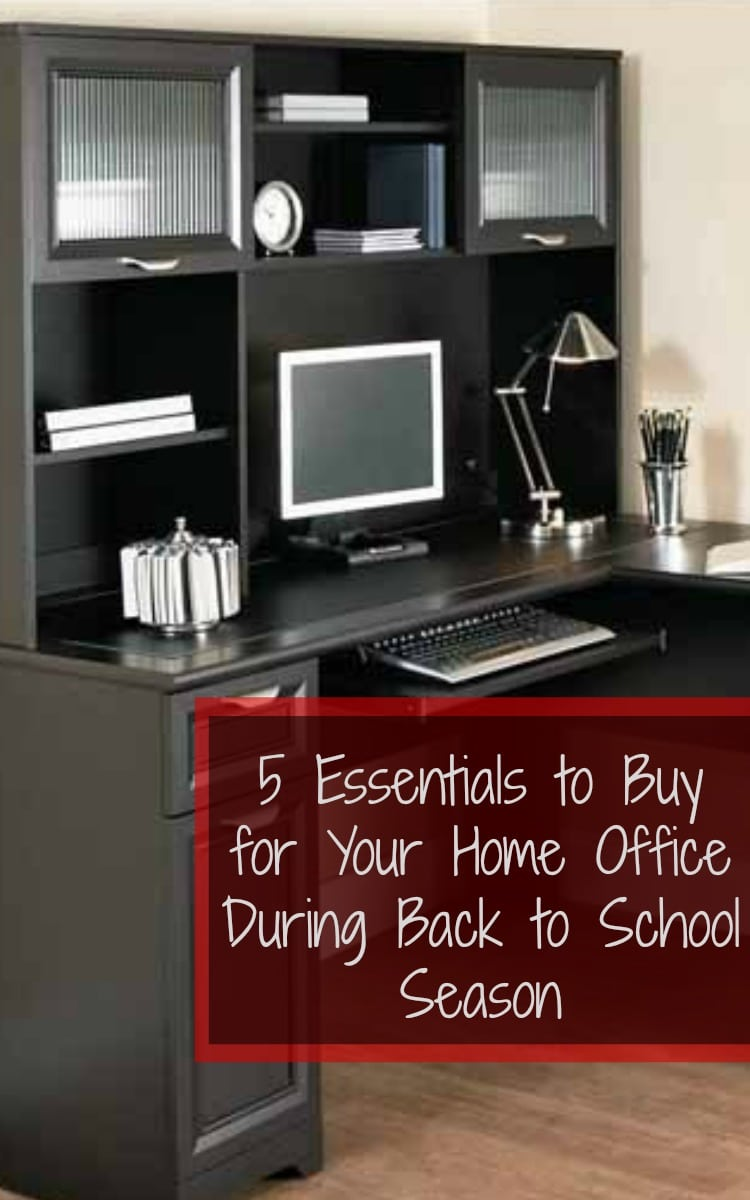 Items to Buy for Your Home Office During Back to School