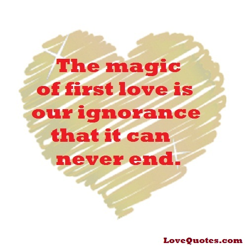 Image result for the magic of first love