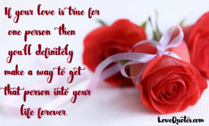 If Your Love Is True