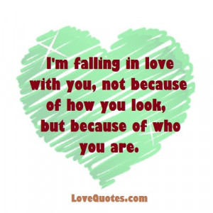 I'm Falling In Love With You