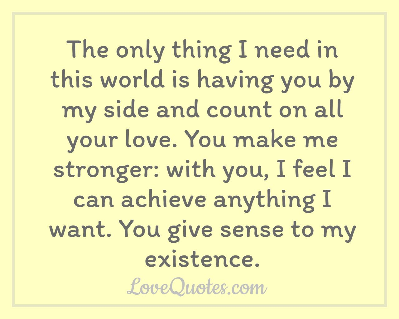love quotes to help
