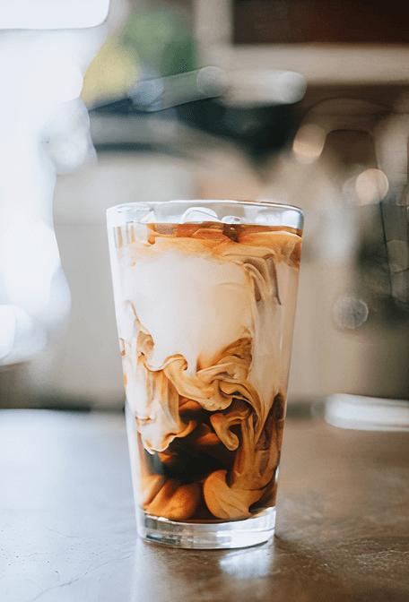 Coconut Milk Thai Iced Coffee