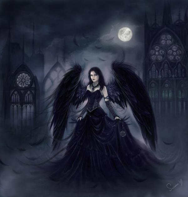 Shadow Angel - Quantumsunz Dark Lover Of Darkness