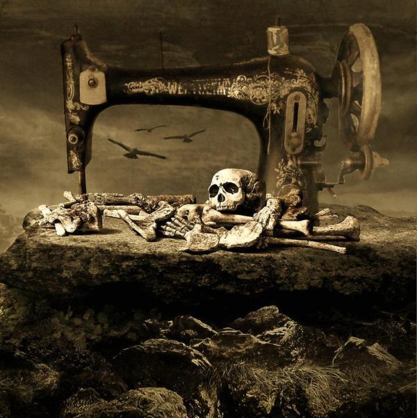 Dark Art Creepy Skeletons