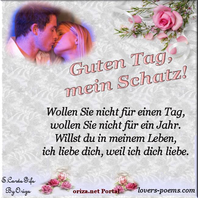 German – DEUTSCH – Guten Tag Mein Schatz! Willst Du In