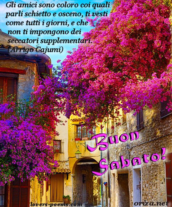ITALIANO Buon Sabato Gli Amici Sono Oriza Net Portal