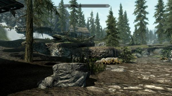 Skyrim Missing Textures Menu - Year of Clean Water
