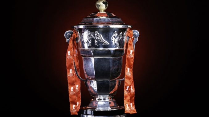 The Rugby League World Cup trophy restored with the Cockerel 678x381 - Host cities for 2021 World Cup to be revealed