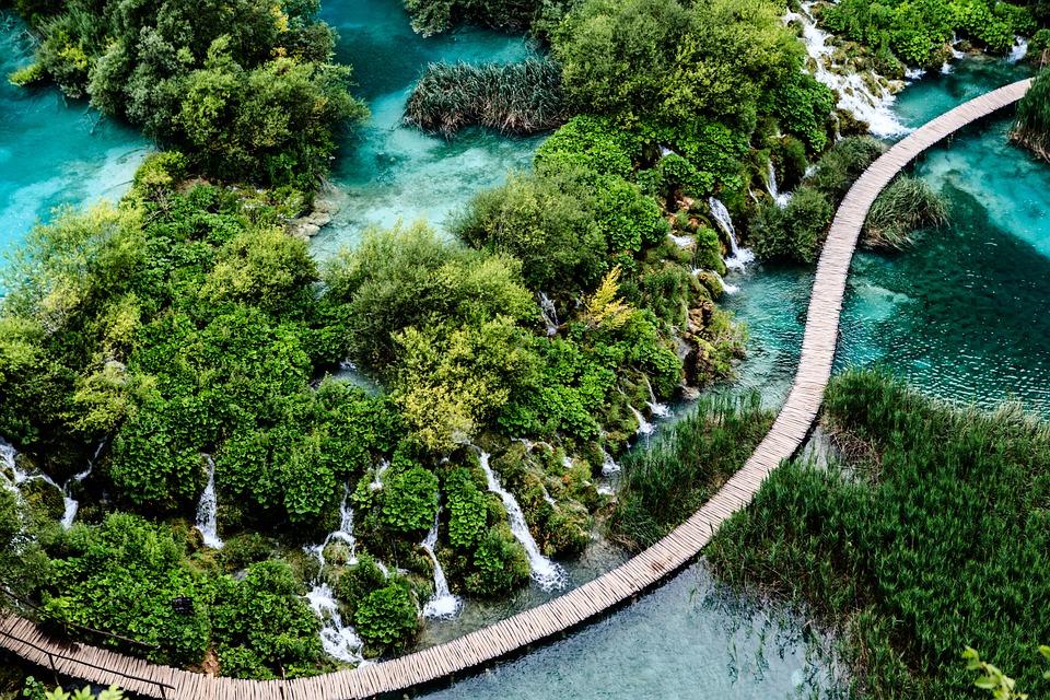 huwelijksreis naar kroatië - plitvice meren