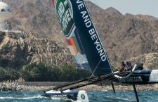 extreme sailing series muscat