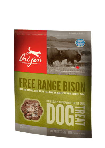 Orijen Free Range Bison Dog Treats
