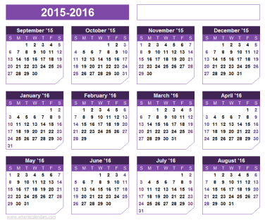 Miniature Schnauzer Blog Calendar