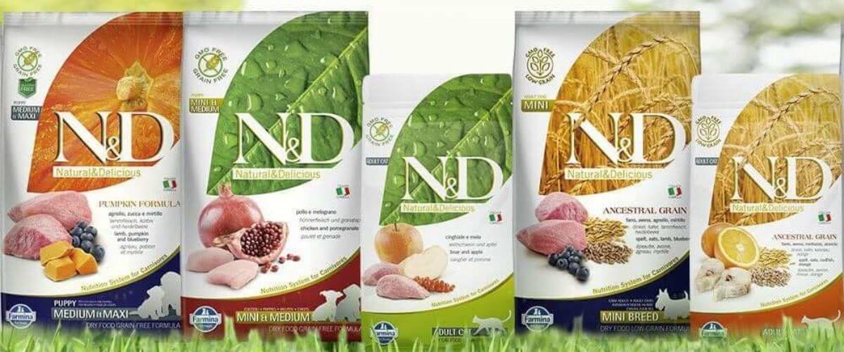 Farmina Natural And Delicious Brand Dog Food