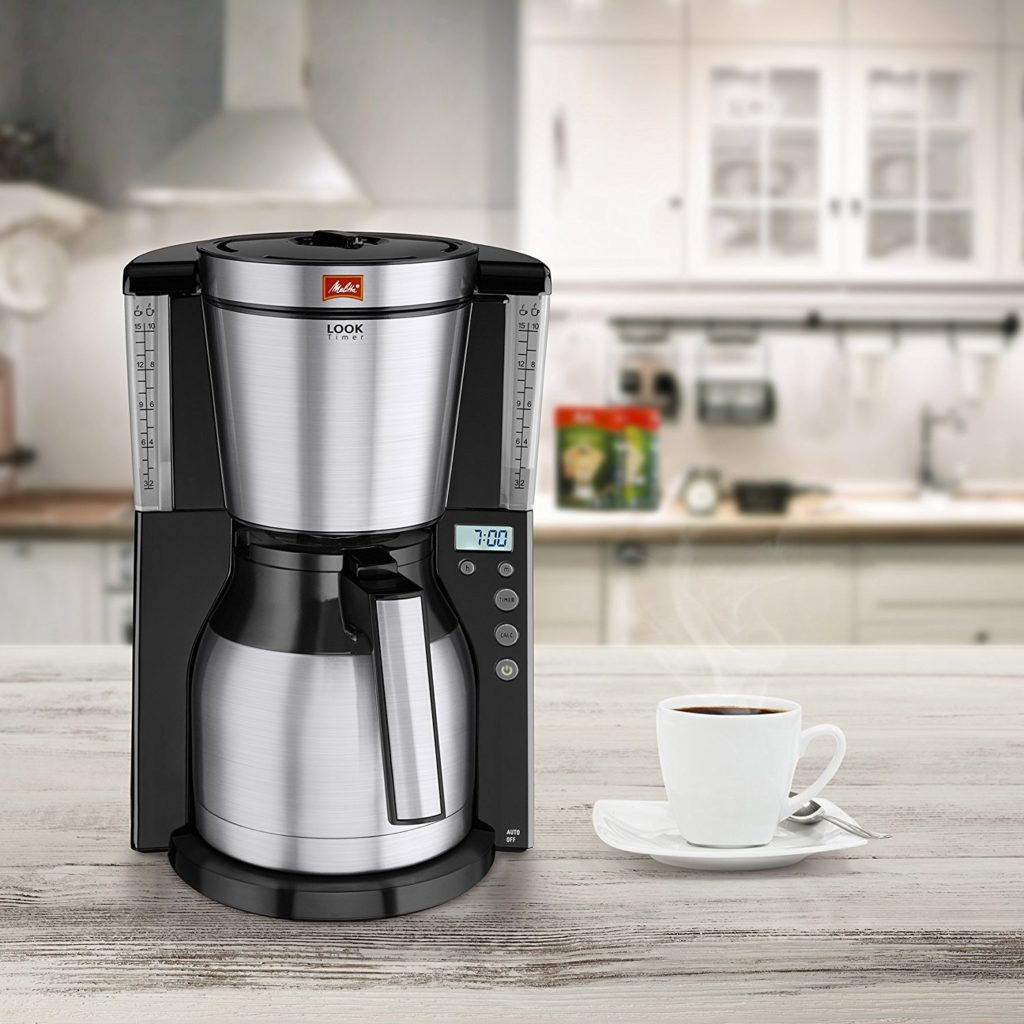 Morphy Richards Ekspres Pour Over: Melitta Look IV Filter Coffee Machine