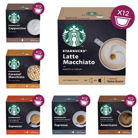 dolce gusto starbucks coffee pods