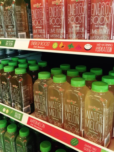 Snap Kitchen Cold Pressed Juice