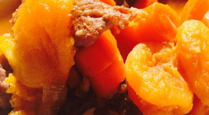 apricot pork stew