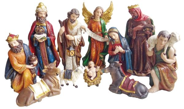 Style Christmas 12 Nativity Sets