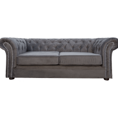 Velvet Chesterfield Sofa Prices Leather Sectional Bed Canada Grey 3 Seater Nelson