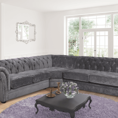Grey Fabric Sofa Next Lounger Bed Charcoal 2c3 Chesterfield Nelson Corner Chenille Dark Previous
