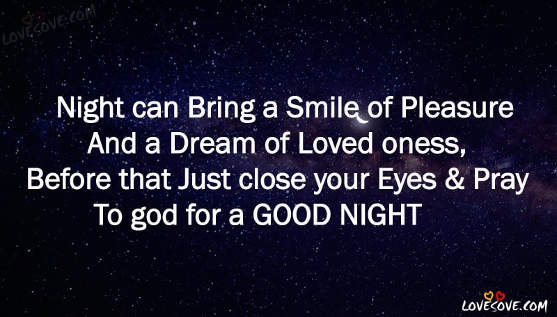Best 80 English Good Night Status Quotes Wishes Images
