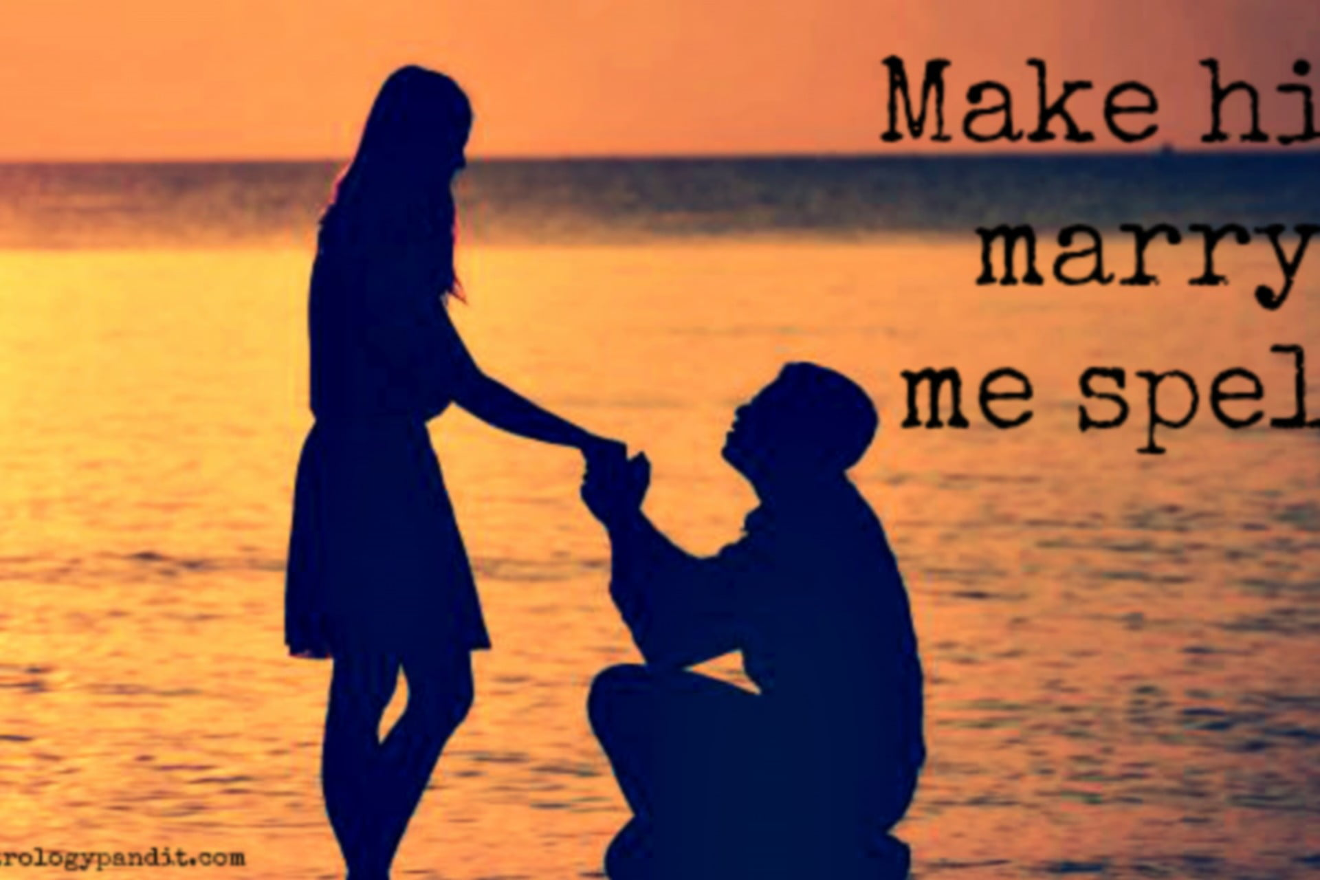Powerful Marry Me Spells | Let Him Do It quick | Love Spells Wicca
