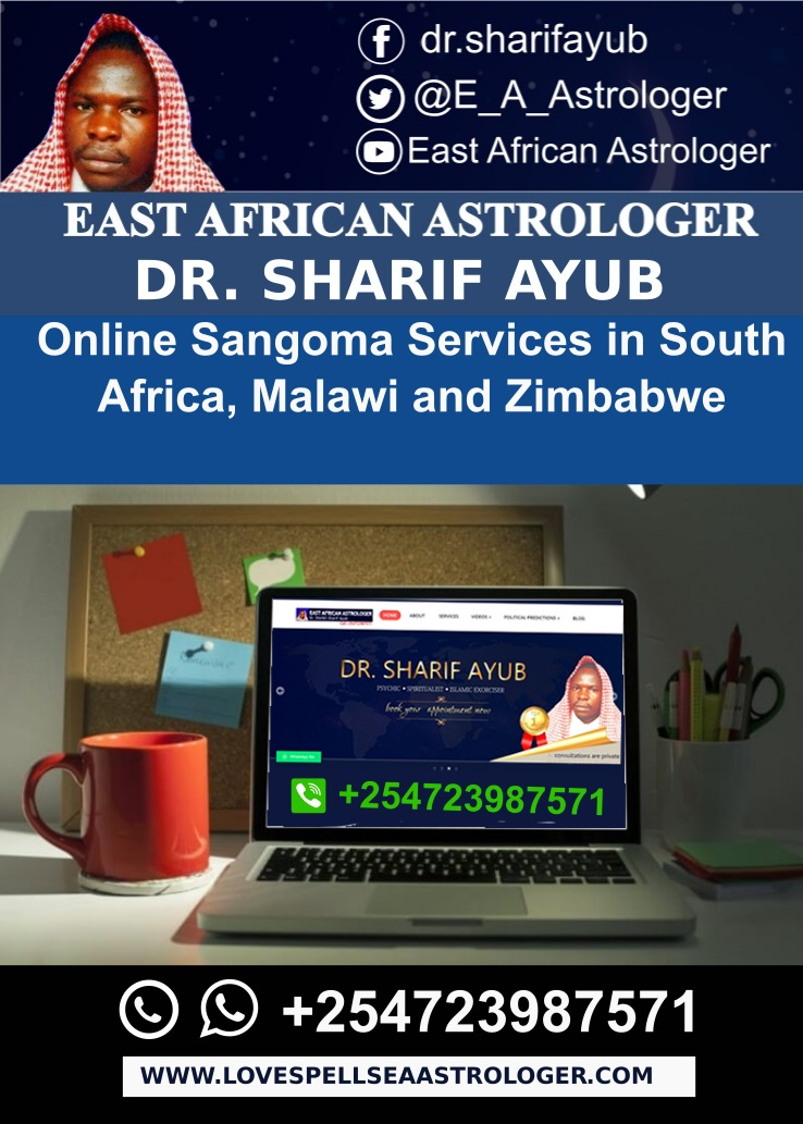 Online Sangoma Services in South Africa Malawi and Zimbabwe