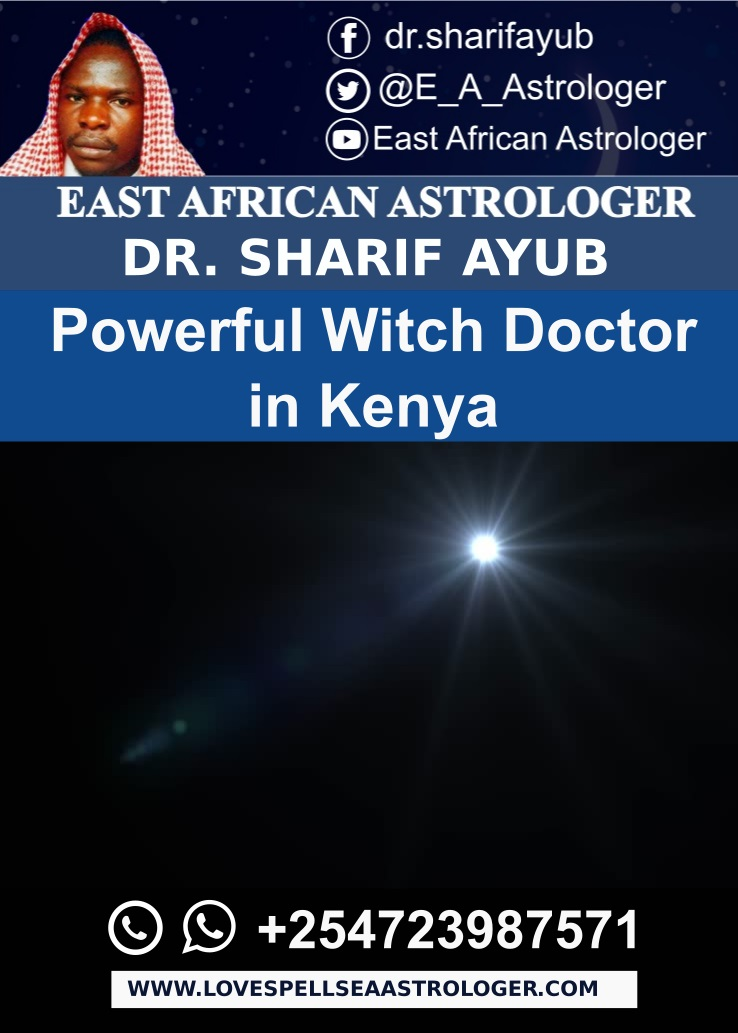 Powerful Witch Doctor in Kenya