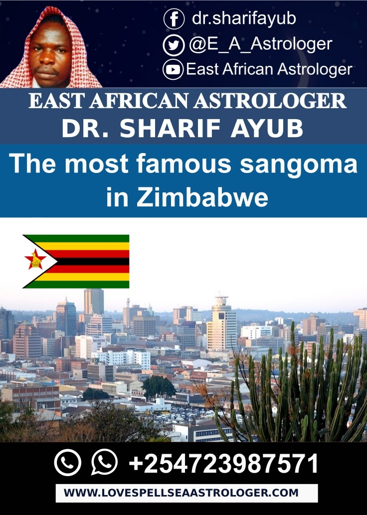 The most famous sangoma in Zimbabwe