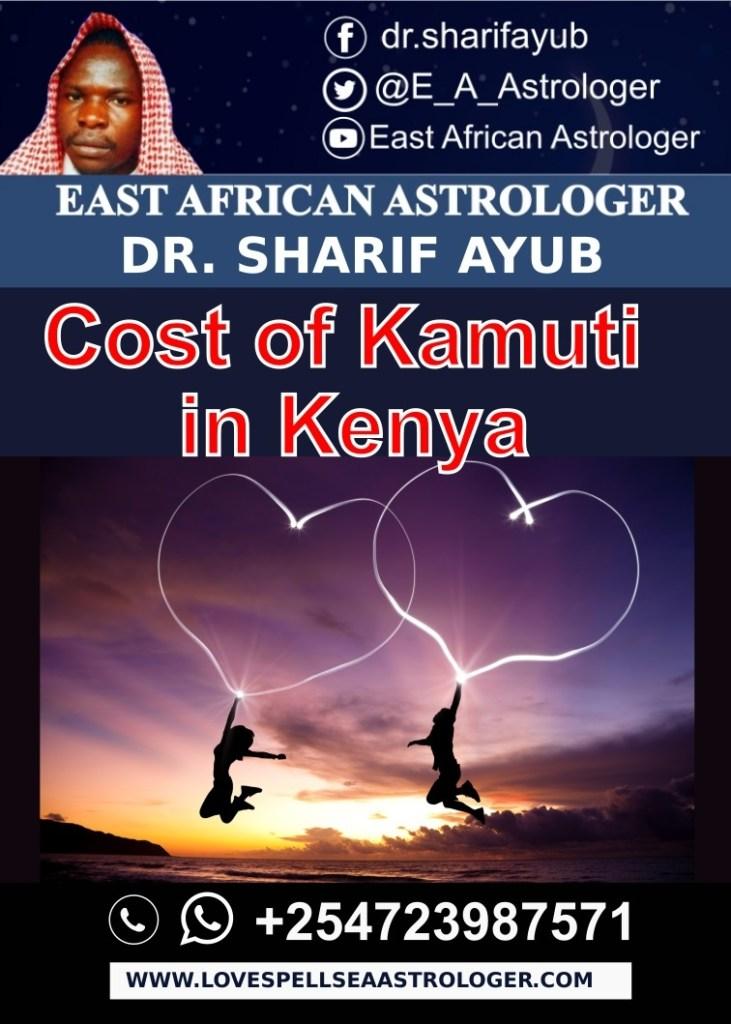 Cost of Kamuti in Kenya
