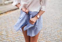 Dress Shirt with Skirt