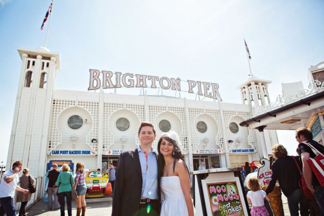 Brighton Pier Wedding Reception