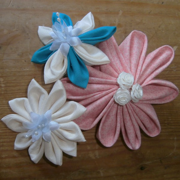 Kanzashi Flowers Hair Accessories