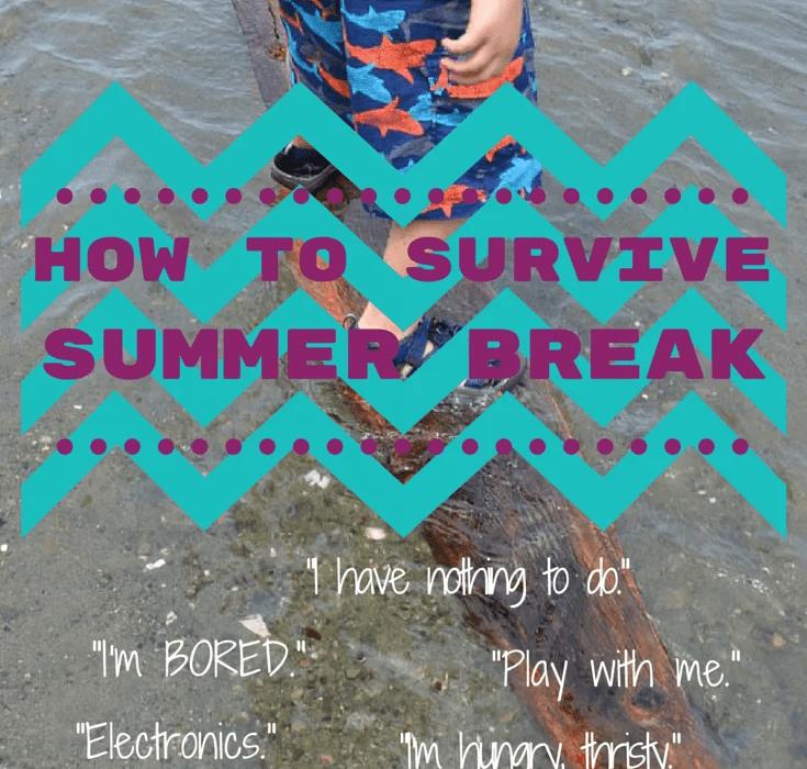 how to survive summer break